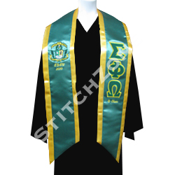 Greek Graduation Sashes