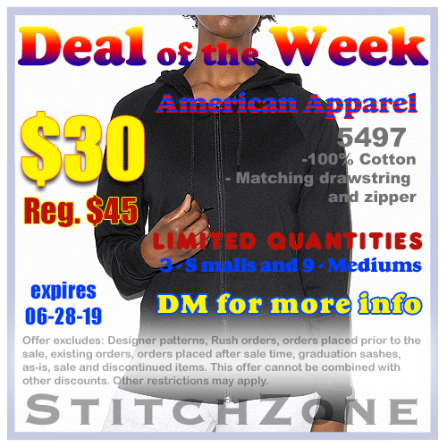 StitchZone Deal of the Week