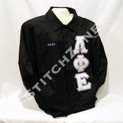 Lambda Phi Epsilon Embroidered Satin Jacket